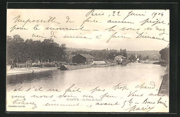 AK St-Satur, Le Port du Canal