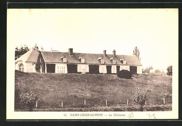 AK Saint-Leger-le-Petit, Le Chateau