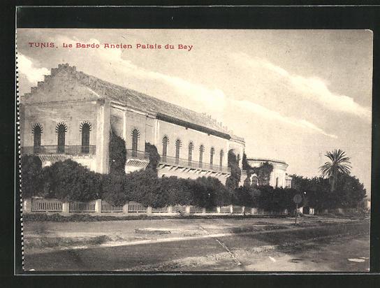 AK Tunis, Le Bardo ancien Palais du Bey