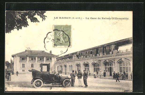 AK Le Raincy, La Gare de Raincy-Villemonble