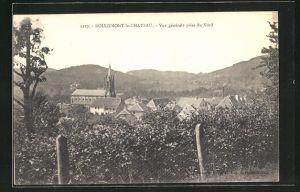 AK Rougemont-le-Chateau, Vue generale prise du Nord