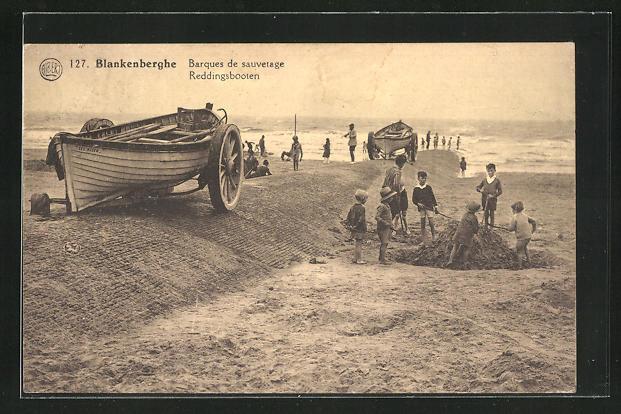 AK Blankenberghe, Barques de sauvetage