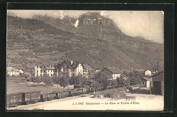AK Sallanches, la Gare et Pointe d`Areu