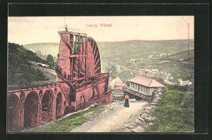 AK Laxey, Laxey Wheel, Wassermühle