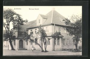 AK Brottewitz, Ansicht von Weidners Gasthof