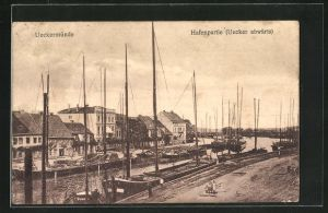 AK Ueckermünde, Hafenpartie mit Booten