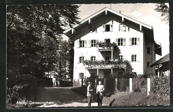 AK Alzing, Blick auf das Genesungsheim