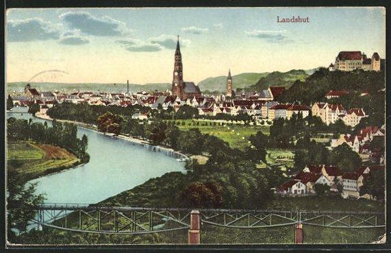 AK Landshut, Ortsansicht