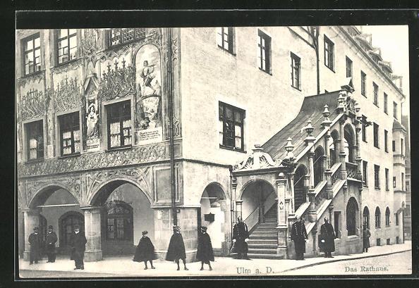 AK Ulm a.D., Das Rathaus