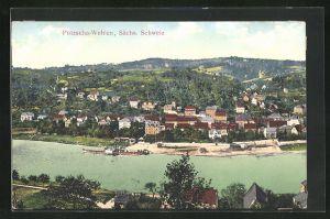 AK Pötzscha-Wehlen / Sächs. Schweiz, Ortsansicht