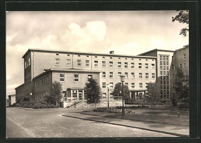Friedrich Wolf-krankenhaus Ak Hennigsdorf S-bahnhof Friedrich Engels-strasse