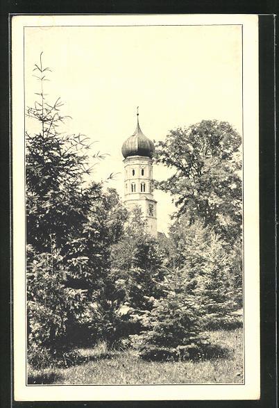 AK Burtenbach, Schertlinhaus - Im neuen Garten