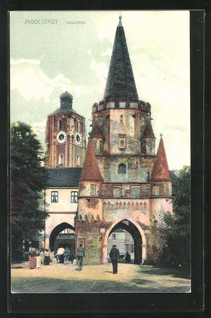 AK Ingolstadt, Partie am Kreuzthor