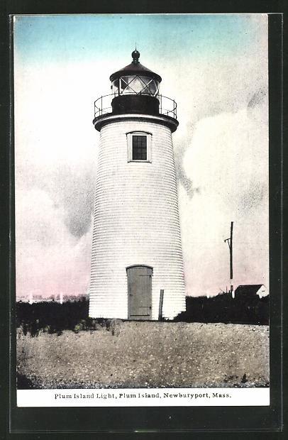 AK Newburyport / Plum Island, Mass, Plum Island Light, Leuchtturm