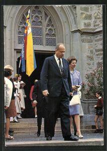AK Fürst Franz Josef von Liechtenstein und Gemahlin Fürstin Gina