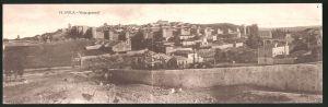 Klapp-AK Avila, Vista general, Panorama mit Stadtmauer