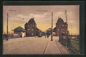 AK Homberg, Brücken-Aufgang