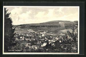 AK Igersheim, Panorama des Ortes