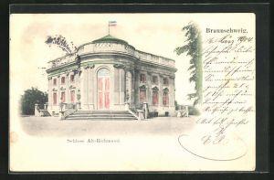 AK Braunschweig, Partie am Schloss Alt-Richmond