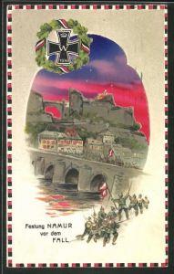 AK Namur, Festung vor dem Fall, Halt gegen das Licht, Propaganda