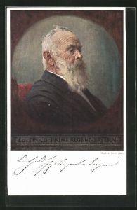 Künstler-AK Walther Firle: Prinzregent Luitpold von Bayern