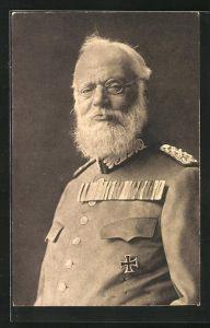 AK König Ludwig III. in Uniform mit eisernem Kreuz Orden