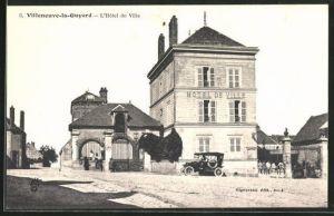 AK Villeneuve-la-Guyard, L`Hotel de Ville