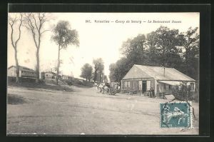 AK Versailles, Camp de Satory, Le Restaurant Daum