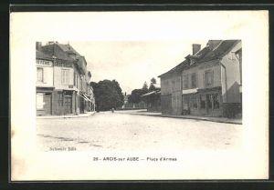 AK Arcis-sur Aube, Place d`Armes