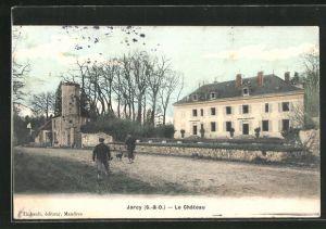 AK Jarcy, Le Chateau, Ansicht vom Schloss