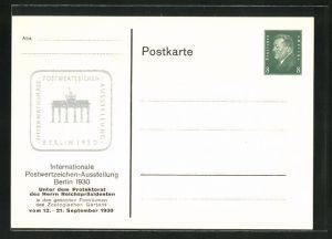 AK Berlin, Intern. Postwertzeichen-Ausstellung 1930, Ganzsache PP113 C10 /09