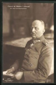 AK General der Infanterie Erich Ludendorff in Uniform