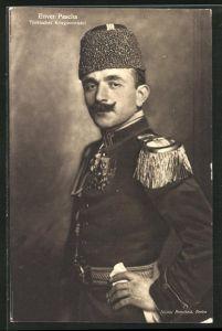 AK Portrait Enver Pascha in Uniform