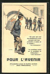 AK Kinderfürsorge, Pour L'Avenir