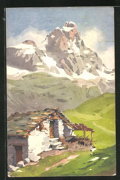 Künstler-AK S. Bonelli: Mont Cervin