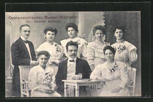 AK Oesterreichisches Damenorchester, Dir.: Heinrich Schmied