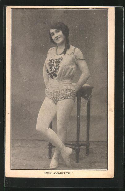 AK Variete, Akrobatin Miss Juliette