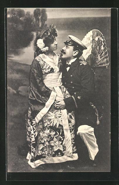 AK Hamburg, Lilly und Carl Eberhardt, original Hamburger Varieté und Einakter Ensemble