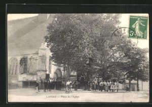 AK Lavau, Place de l`Eglise