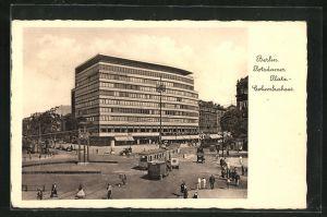 AK Berlin-Tiergarten, Columbushaus am Potsdamer Platz