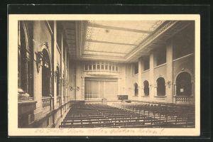 AK Berlin-Friedenau, Königin-Luise-Schule, Festsaal