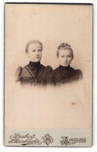 Fotografie Drabe & Sternbacher, Augsburg, Portrait zwei junge Frauen