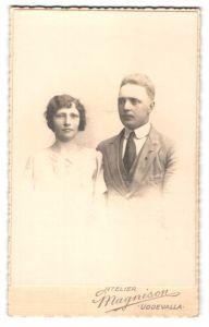 Fotografie Atelier Magnisson, Uddevalla, Portrait junges bürgerliches Paar