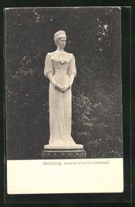 AK Salzburg, Denkmal Kaiserin Elisabeth (Sissi) von Österreich