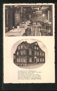 AK Ronsdorf, Gasthof Zum Anker, zwei Motive