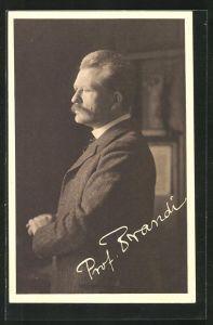 AK Portrait Prof. Dr. Karl Brandi