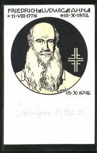 AK Portrait Friedrich Ludwig Jahn