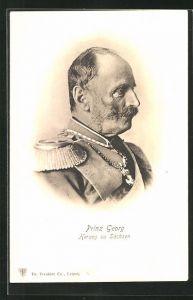 AK Portrait Herzog Prinz Georg von Sachsen