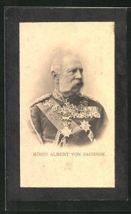 AK König Albert von Sachsen in Uniform
