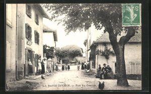 AK La Batie-Divisin, Rue du Centre, Magasin de Tabac